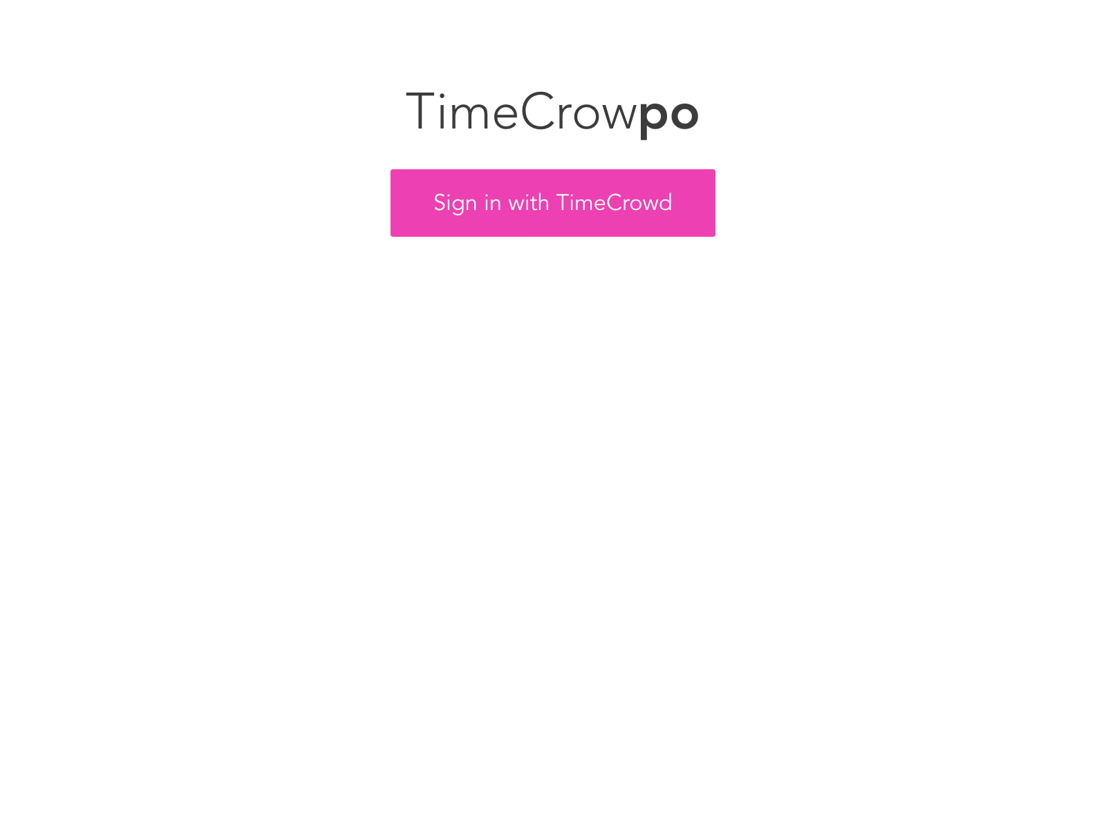 TimeCrowpoホーム